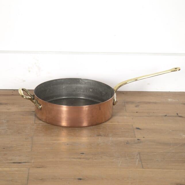 Huge Copper and Brass Pan DA4313391