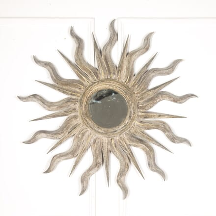 Italian Painted Starburst Mirror MI7313375