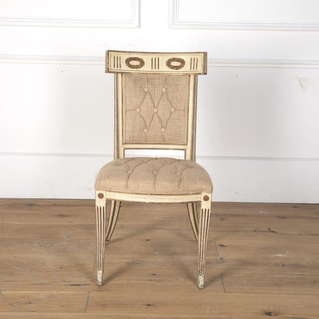 Italian Sabre Leg Chair CH7313374