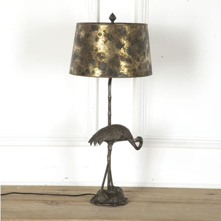 Jensen Silvered Heron Table Lamp LT7312455