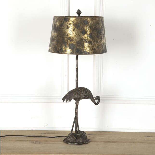 Jensen Silvered Heron Table Lamp LT7312455