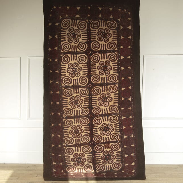 Kyrgyzstan Thick Felt Tribal Rug RT7812330