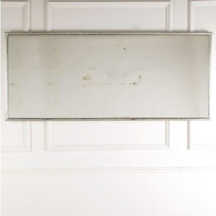 Large 19th Century Silver Gilt Bistro Mirror MI6012842