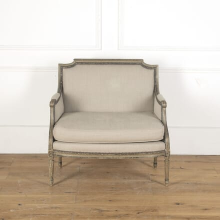 Large French 19th Century Marquise Armchair CH3713092