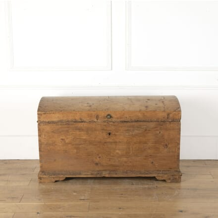 Large Pine Dome Lid Blanket Box CB9012799