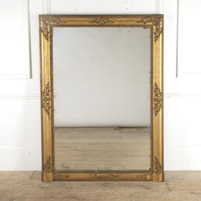 Large Rectangular Overmantle Mirror MI3013181