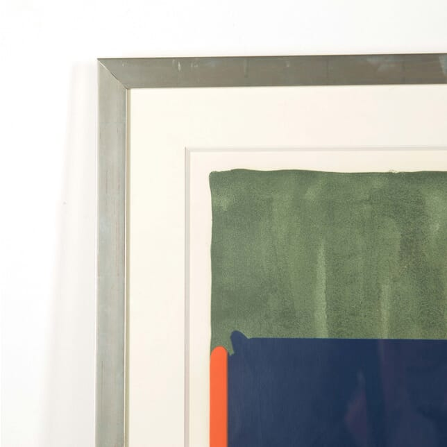 Large Screenprint by John Hoyland WD298587