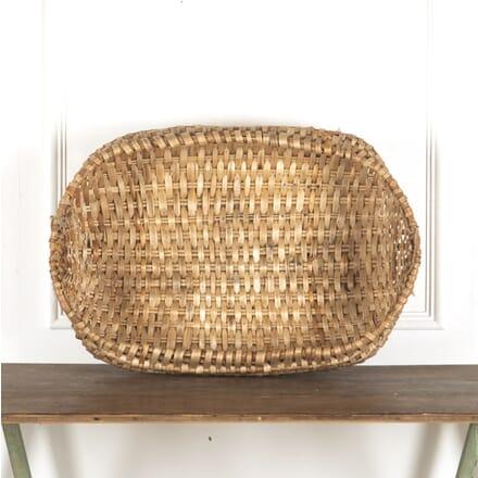 Large late C19th Swedish Folk Art Basket DA9013199