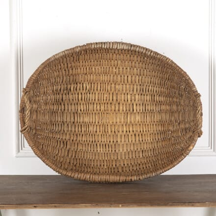 Large late C19th Swedish Folk Art Basket DA9013201