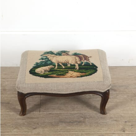 Louis XV Revival Tapestry Footstool ST1513018