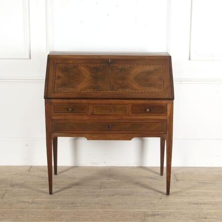 Louis XVI Period Marquetry Bureau Desk DB1513021