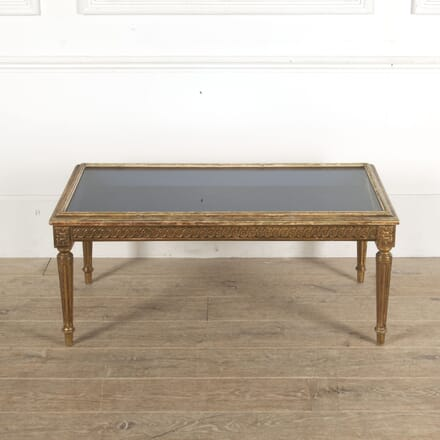 Louis XVI Revival Vitrine Coffee Table CT1512976