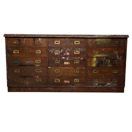 Mahogany Haberdashery Drawers CU5355959