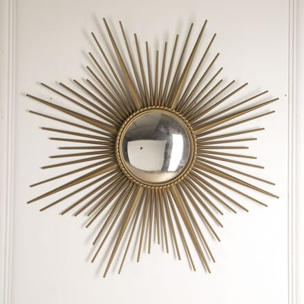 Convex Sunburst Mirror by Chaty Vallauris MI6013325