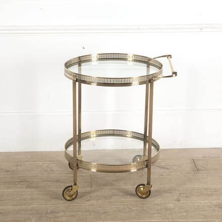 Mid Century Round Cocktail Trolley TS1512973