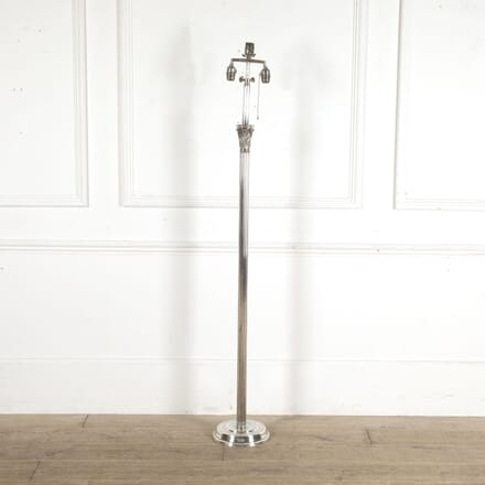 Neoclassical Revival Silver Plated Floor Lamp LF1513028