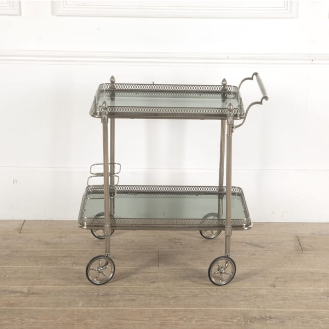 Nickel Plate Cocktail Trolley CT1512977