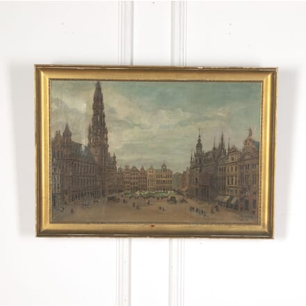 Oil Painting of Brussels WD5512523