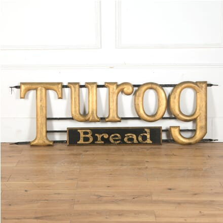Original 1920s Turog Advertising Bread Sign DA5310437
