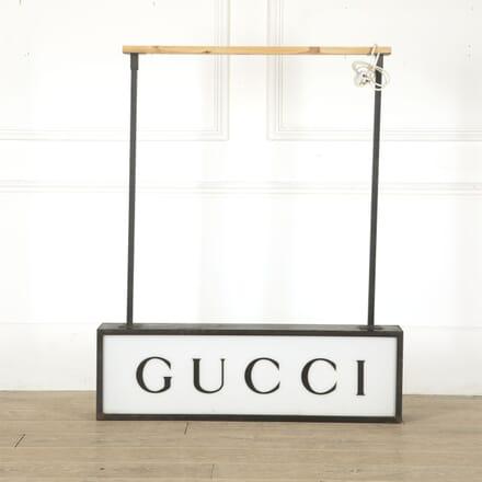 Original 1970s Gucci Light Sign LT4512395