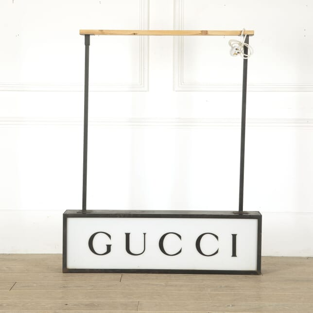 Original 1970s Gucci Light Sign LT4512395