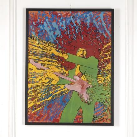 "Original Jimi Hendrix ""Explosion"" Poster WD7813052"