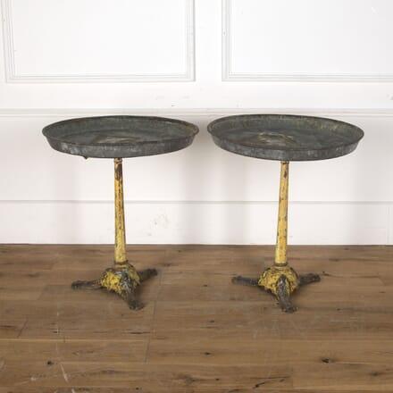 Pair of 19th Century Bistro Tables DA3713100