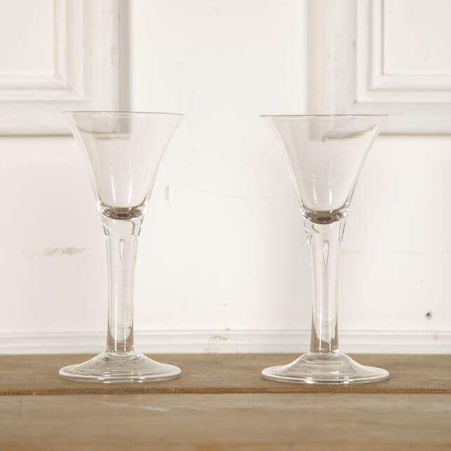 Pair of 19th Century Wine Glasses DA9012771