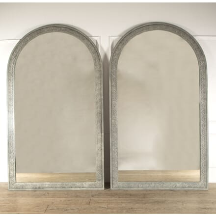 Huge Pair of Early 20th Century French Mirrors MI4512394