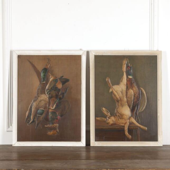 Pair of Embossed Prints of Game WD1512991