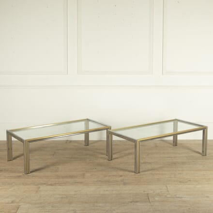 Pair of French 20th Century Coffee Tables CT4812739
