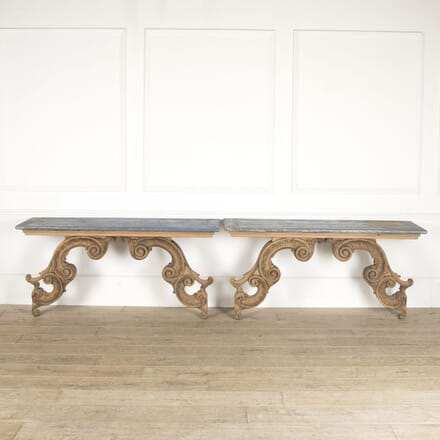 Pair of French Console Tables CO0412866