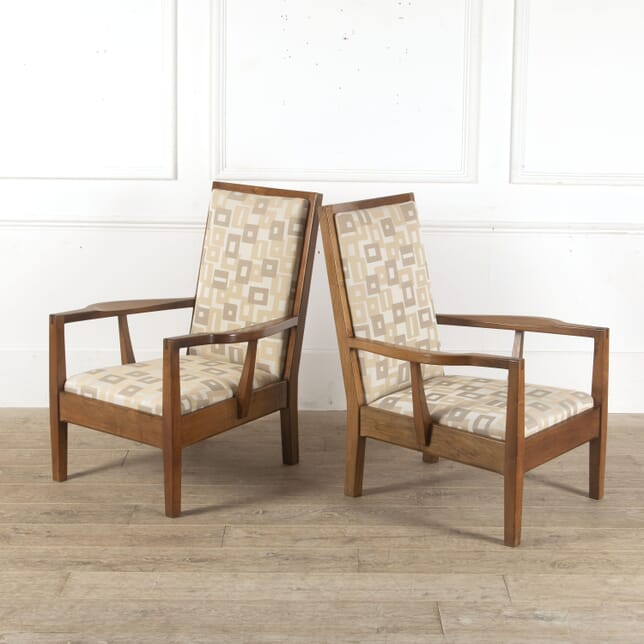 Pair of Gordon Russell Walnut Chairs CH7813051