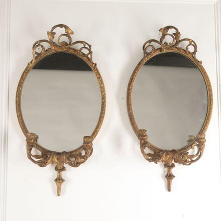 Pair of Italian Gilt Mirrors MI1313444
