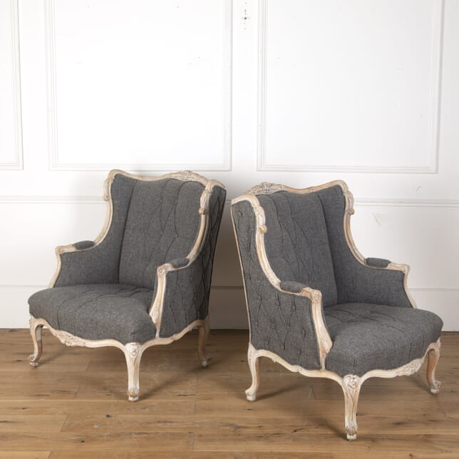 Pair of Italian Upholstered chairs CH7313372