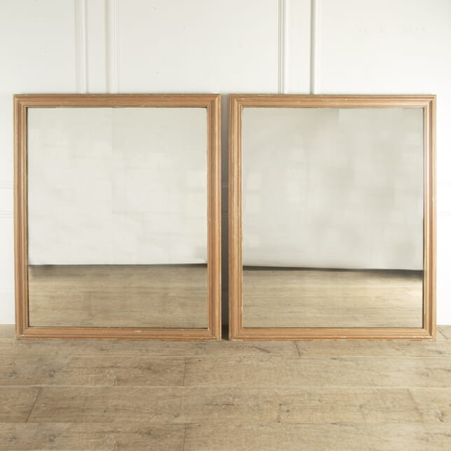 Pair of Large French Gilt Mirrors MI4812743