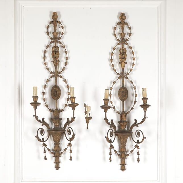 Pair of Large Italian 19th Century Wall Lights LW6013305