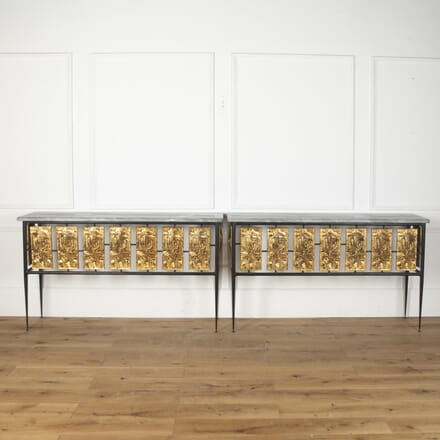 Pair of Mid Century Console Tables CO7312440