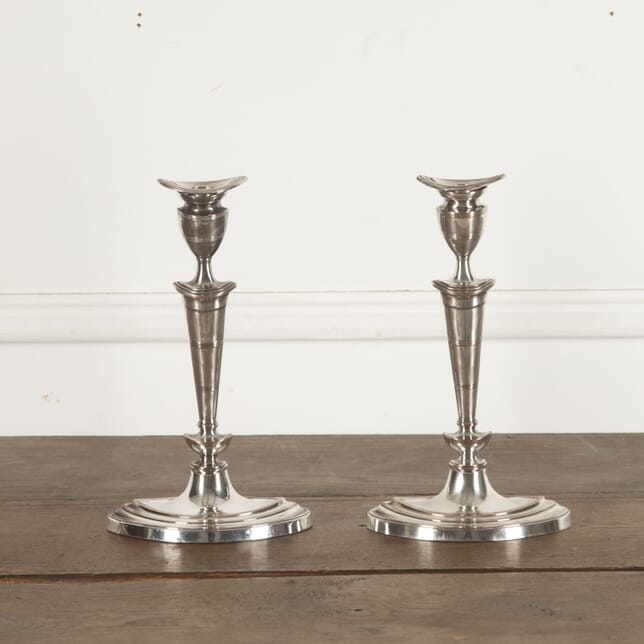 Pair of Neoclassical Revival Candle Sticks DA1512993