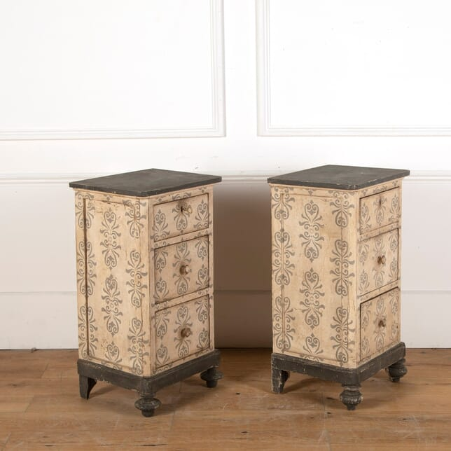 Pair of Painted Bedside Chests CB9011638