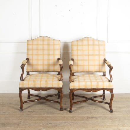 Pair of Period Regence Armchairs CH1512978