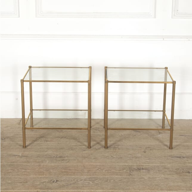 Pair of Tier Side Tables TA3013186