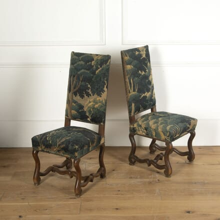 Pair of Verdure Tapestry Chairs CH5512529