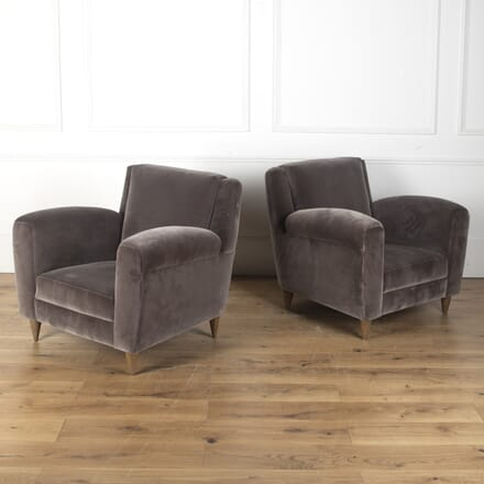 Pair of Vintage Italian Armchairs CH7612472