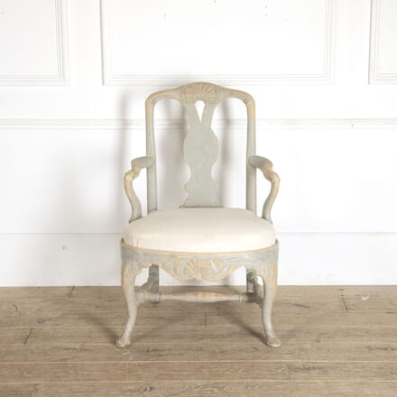 Period Rococo Armchair CH6012845