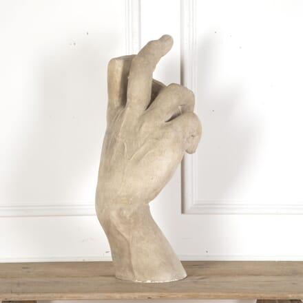 Plaster Sculpture of Hand in Michelangelo's David DA5512512