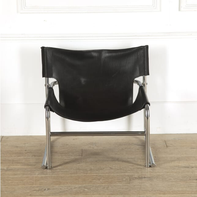 Rodney Kinsman Leather and Chrome T1 Chair CH7812307