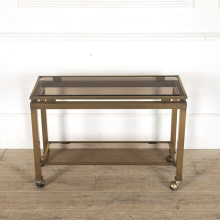 Satin Brass Bar Cart TS3013185