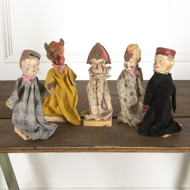 Set of Early 20th Century French Glove Puppets DA7712358