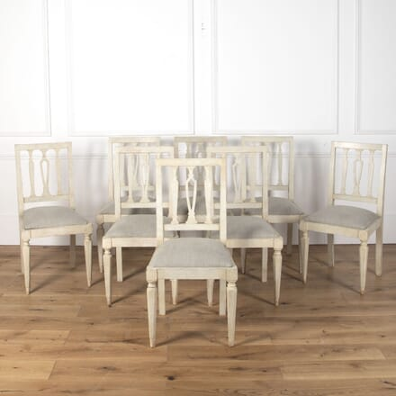 Set of Eight Italian Dining Chairs CD9012721
